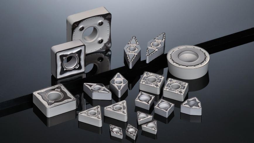 Logo Beschichtete Sorten für die Stahlbearbeitung - AC8000P Serie