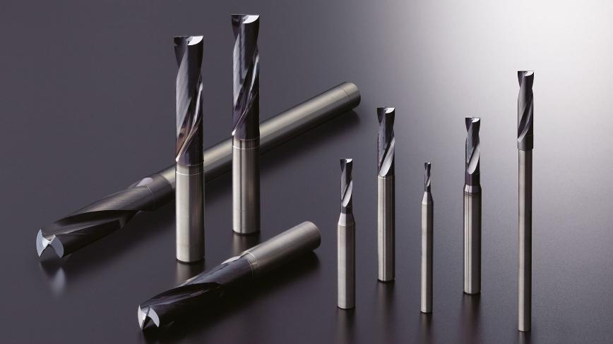 Logo Coated carbide drills for spot facing - MDF Flat drills