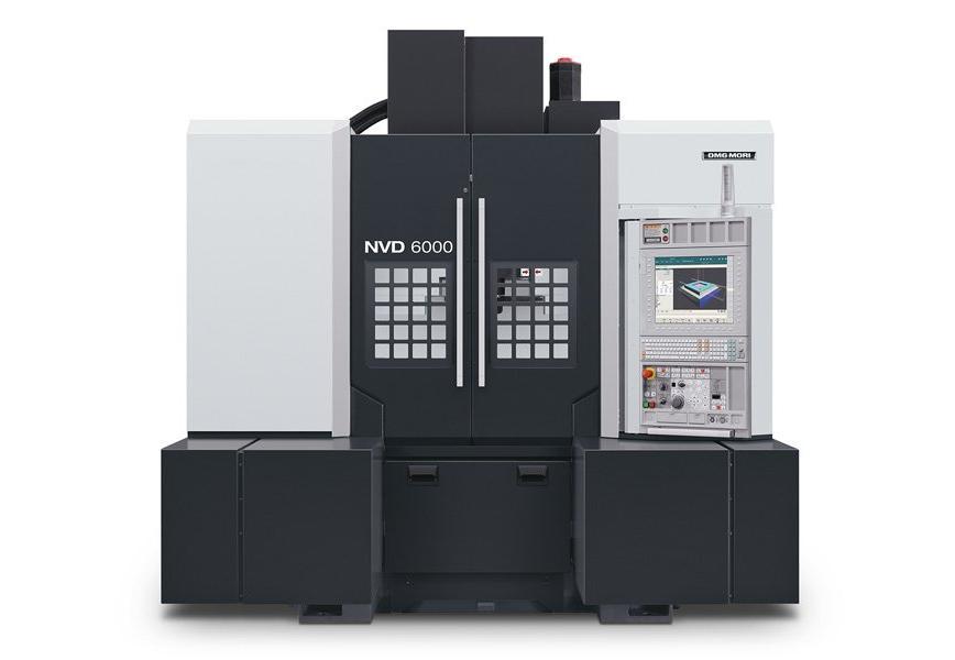 Logo Vertical machining centre - NVD 6000 DCG