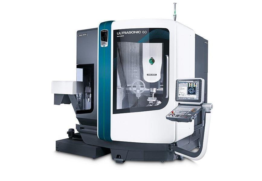 Logo High speed milling machine (HSC) - ULTRASONIC 60 eVo linear