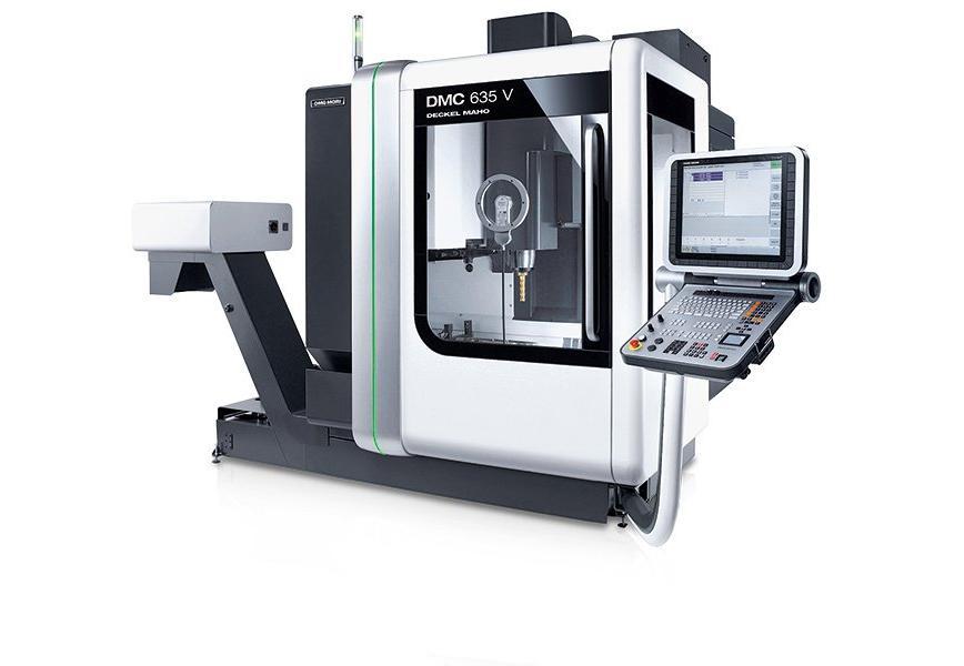 Logo Vertical machining centre - DMC 635 V