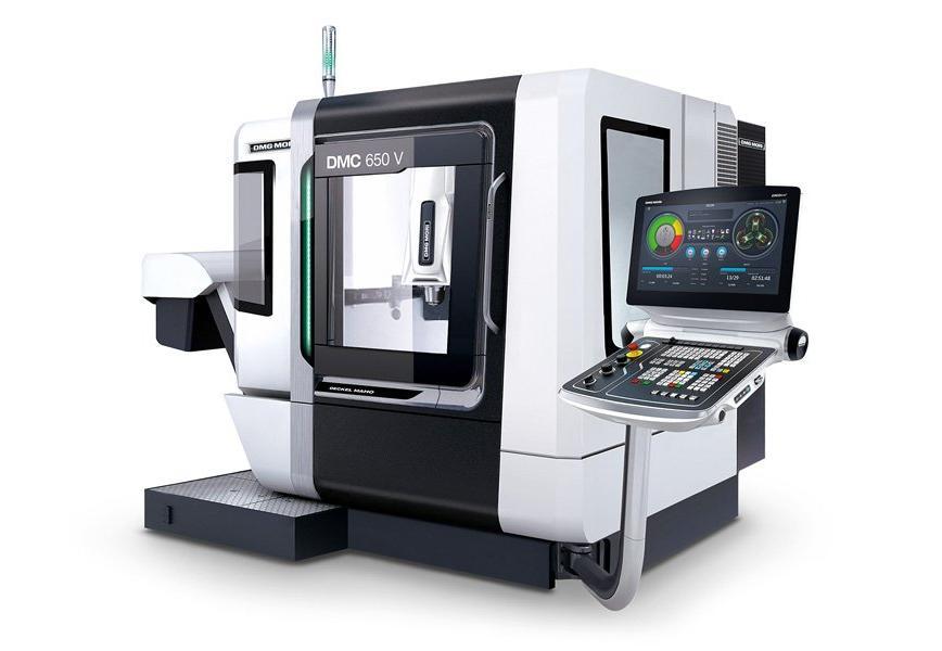 Logo Vertical machining centre - DMC 650 V