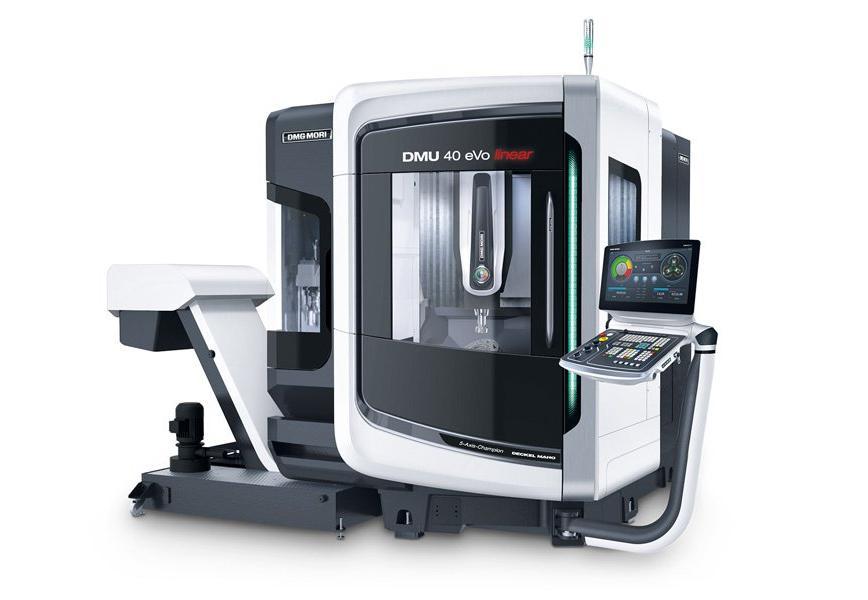 Logo Universal machining centre - DMU 40 eVo / linear