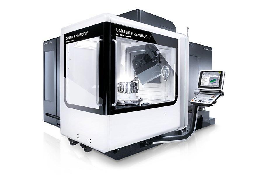 Logo Universal machining centre - DMU 60 P duoBLOCK®