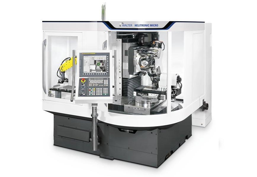 Logo Universal-Werkzeugschleifmaschine - WALTER HELITRONIC MICRO