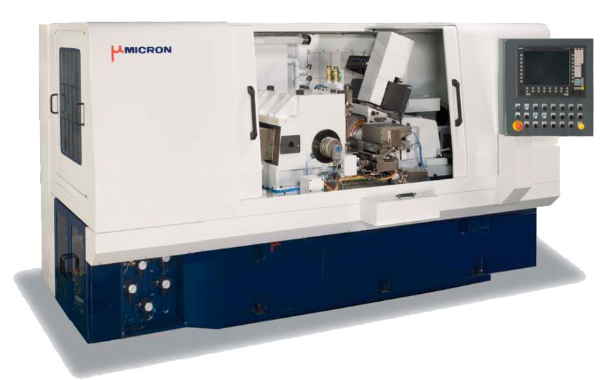 Logo Spitzenlose Rundschleifmaschine - Micron MSL-600III-15D