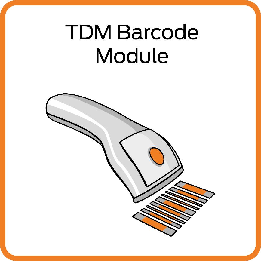 Logo Software für Werkzeugmanagement - TDM Barcodemodul