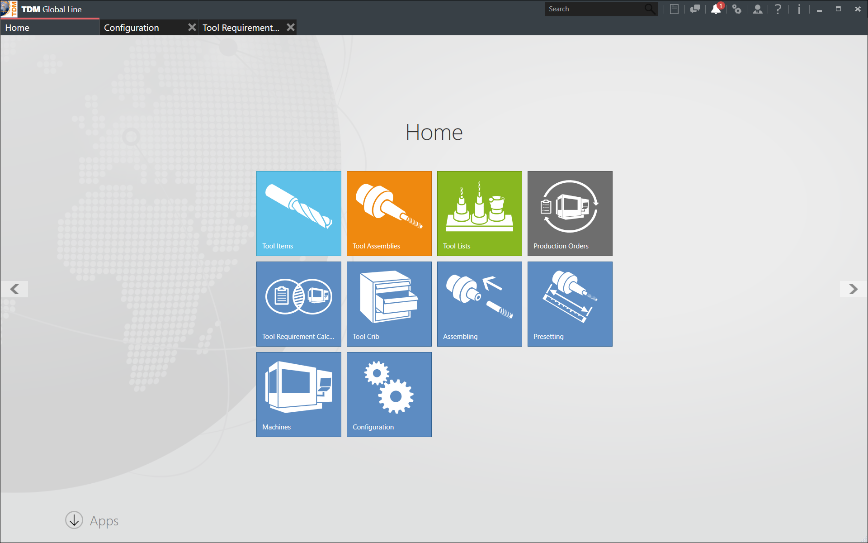 Logo Software für Shopfloor Management - TDM Shopfloor Manager Global Line