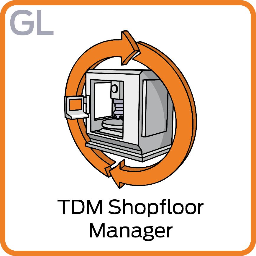 Logo Software for Shopfloor Management - TDM Shopfloor Manager Global Line