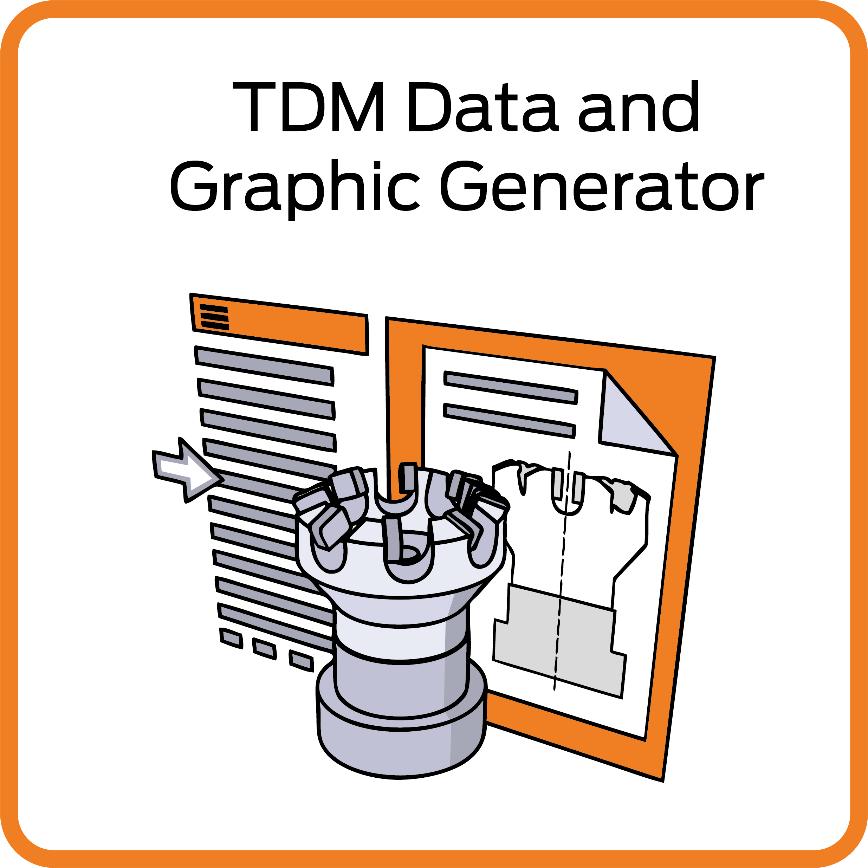 Logo TDM Data- and Graphic Generator