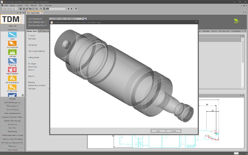 Logo Software for Data & Graphic Generation - TDM 3D-Revolve Generator