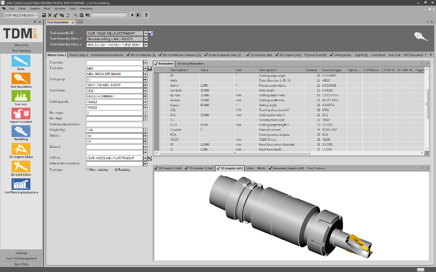 Logo CAM software - Interface TDM - TopSolid'CAM 7