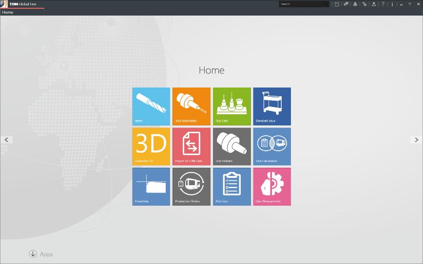 Logo Software für Werkzeugmanagement - TDM Basismodul Global Line