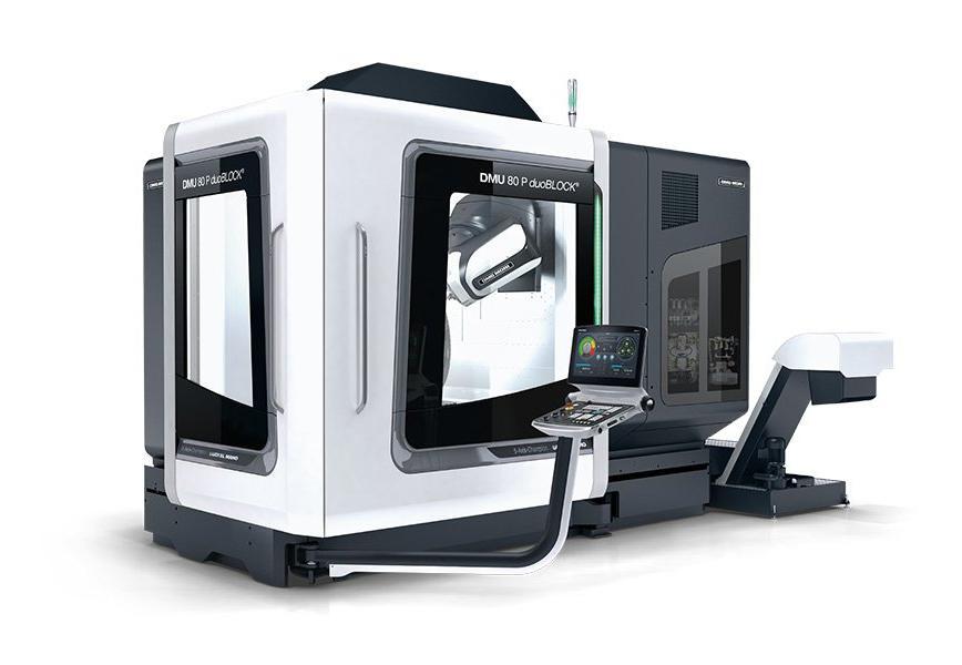 Logo Universal machining centre - DMU 80 P duoBLOCK®