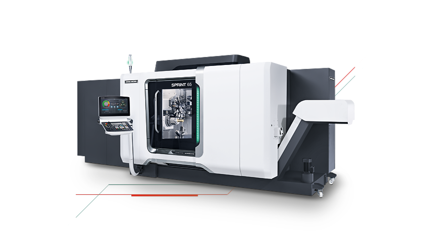 Logo Horizontal turning centre - SPRINT 65