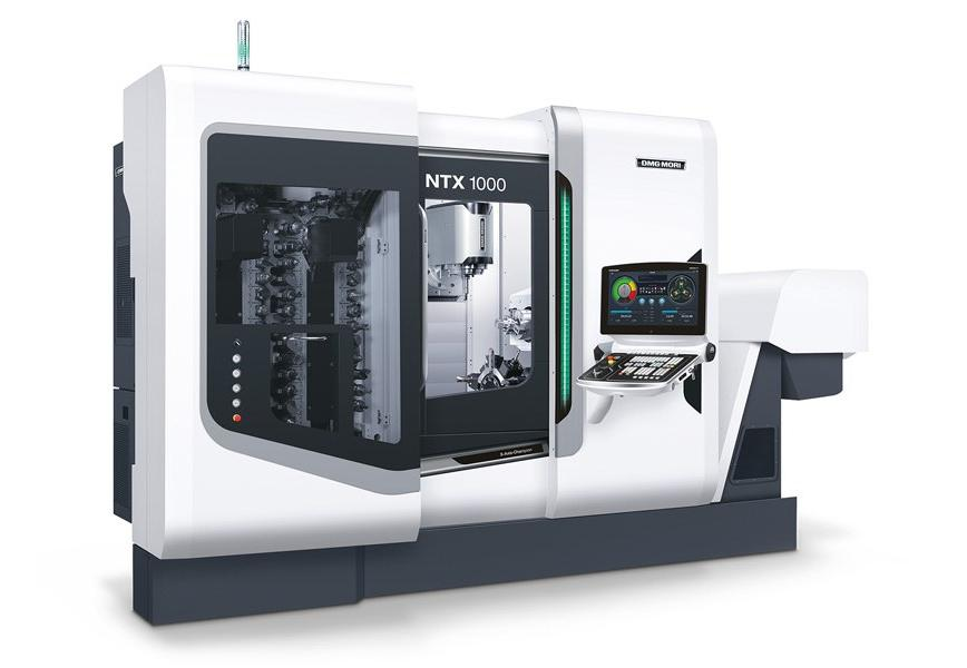 Logo Horizontal machining centre - NTX 1000 2nd Generation