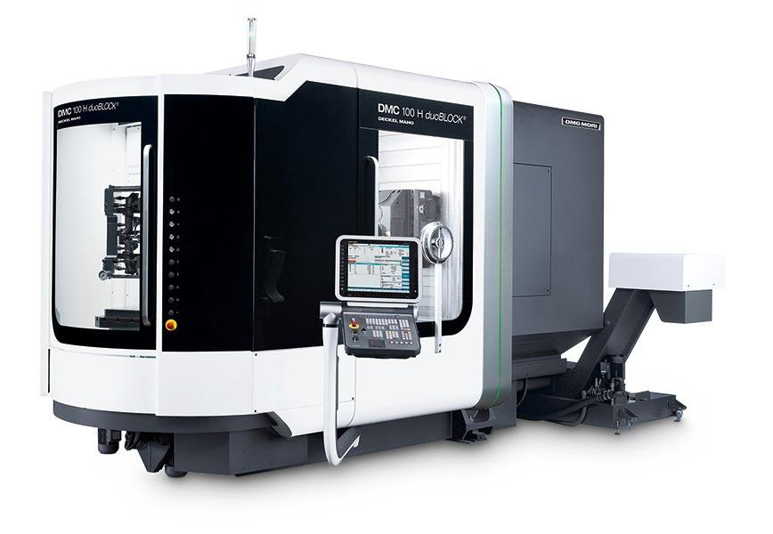 Logo Horizontal machining centre - DMC 100 H duoBLOCK®
