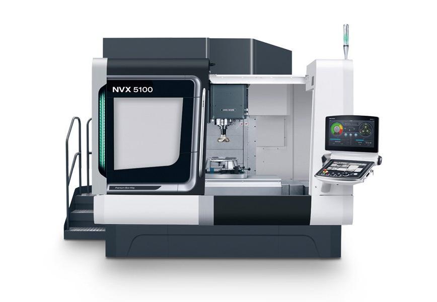Logo Vertikal-Bearbeitungszentrum - NVX 5100