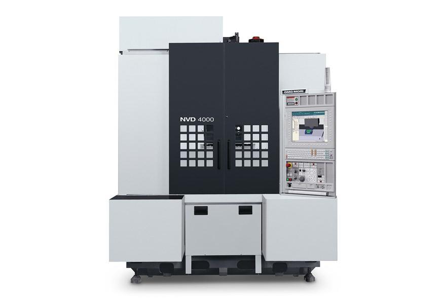 Logo Vertical machining centre - NVD 4000 DCG