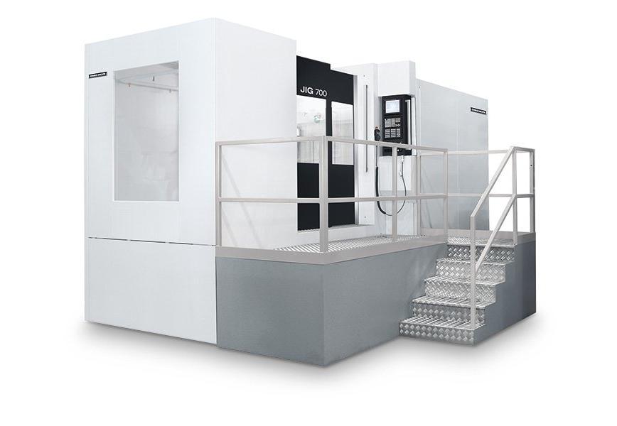 Logo Horizontal machining centre - JIG 700