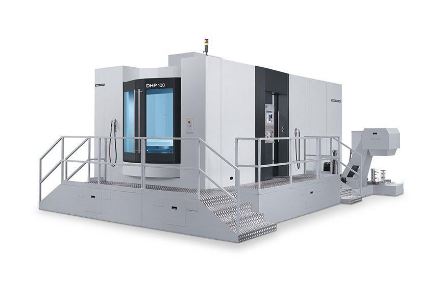 Logo Horizontal machining centre - DHP 100 II