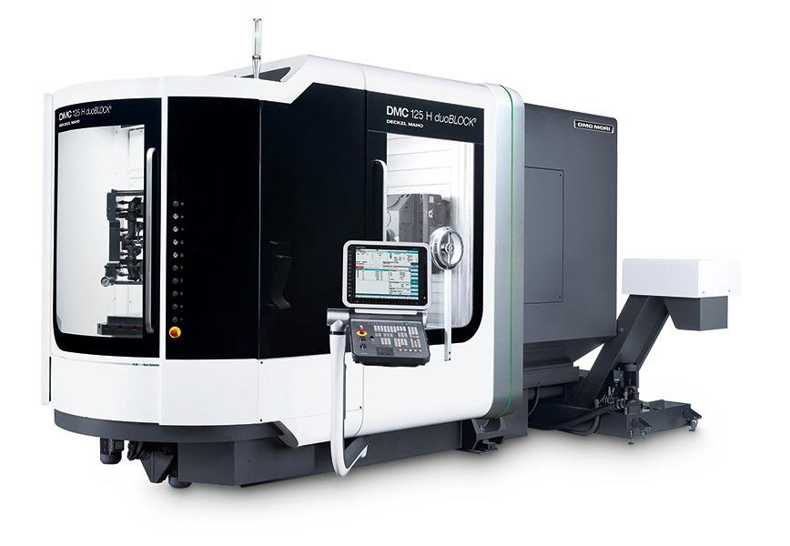 Logo Horizontal machining centre - DMC 125 H duoBLOCK®