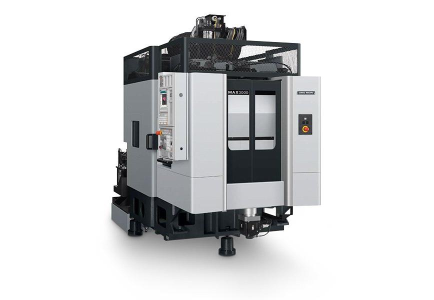 Logo Vertical machining centre - MAX 3000 Stealth Design