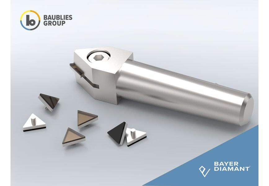 Logo Dressing tool, Triangular Plates - Triangular Plates