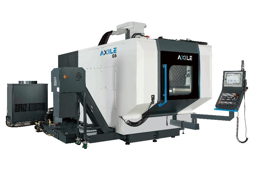 Logo High Speed machining centre - AXILE-G6