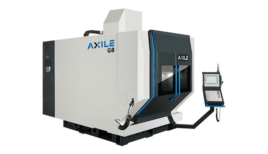 Logo High speed milling machine (HSC) - AXILE-G8