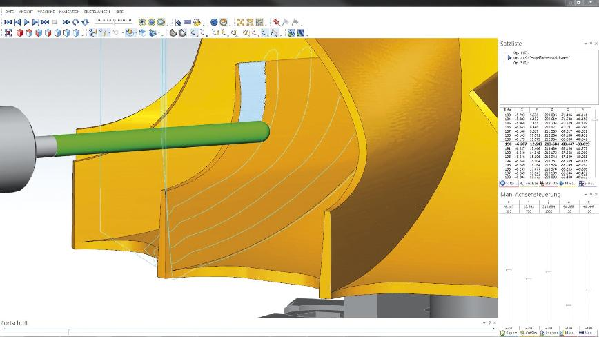 Logo CAM software - 5 AXIS SIMULTANEOUS MILLING