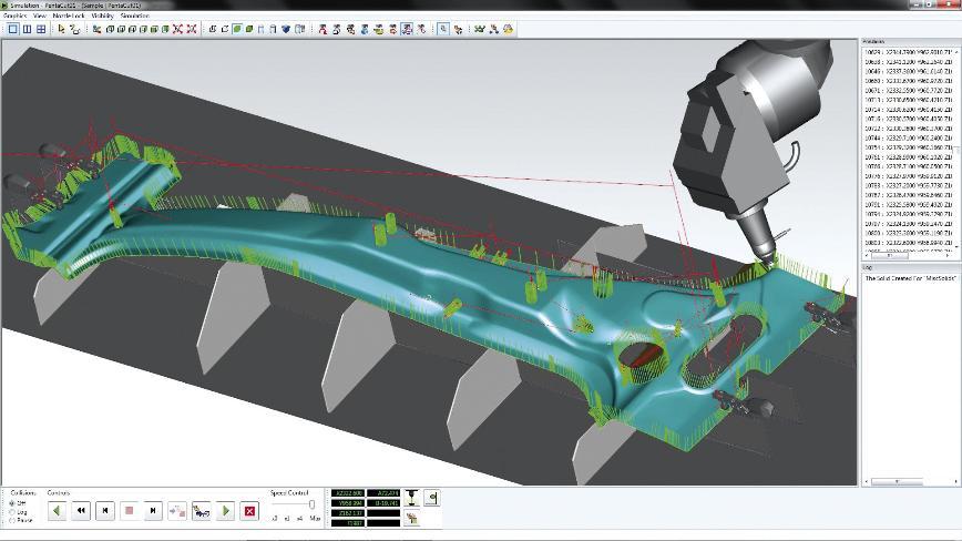 Logo CAM software - 3D SHEET METAL MACHINING