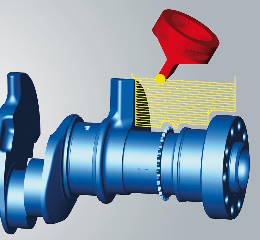 Logo CAM software - hyperMILL MILL-TURN Machining