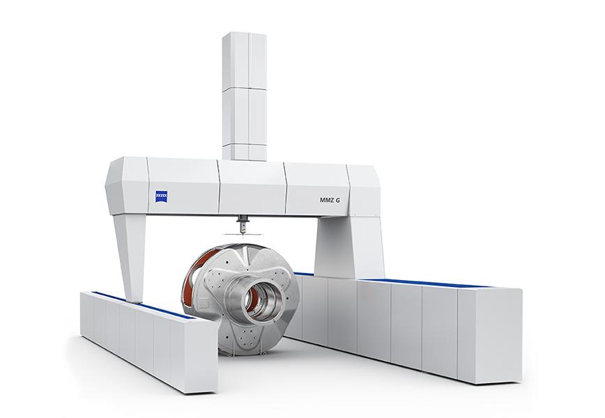 Logo Dreidimensionale Messmaschinen - ZEISS MMZ G