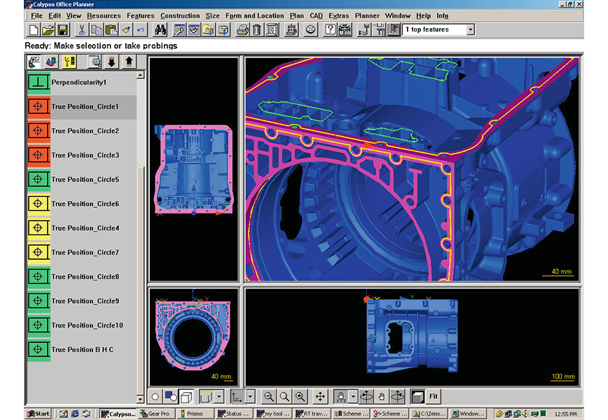 Logo Software for evaluation and analysis - ZEISS CALYPSO
