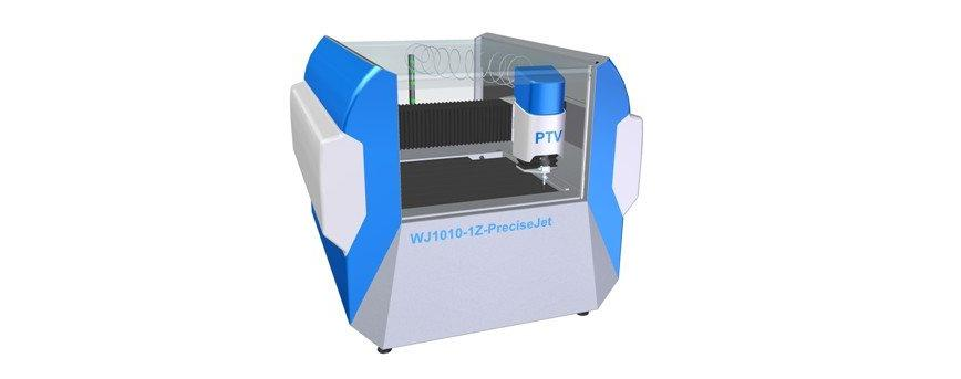 Logo Wasserstrahlschneidanlage - Modellreihe PreciseJet