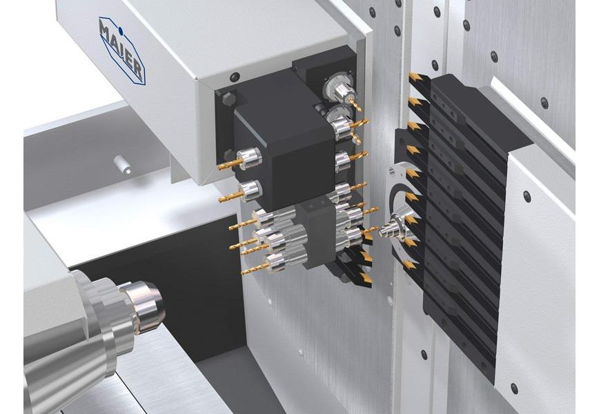 Logo Single spindle bar automatic - ML-ProLine 125 Linear