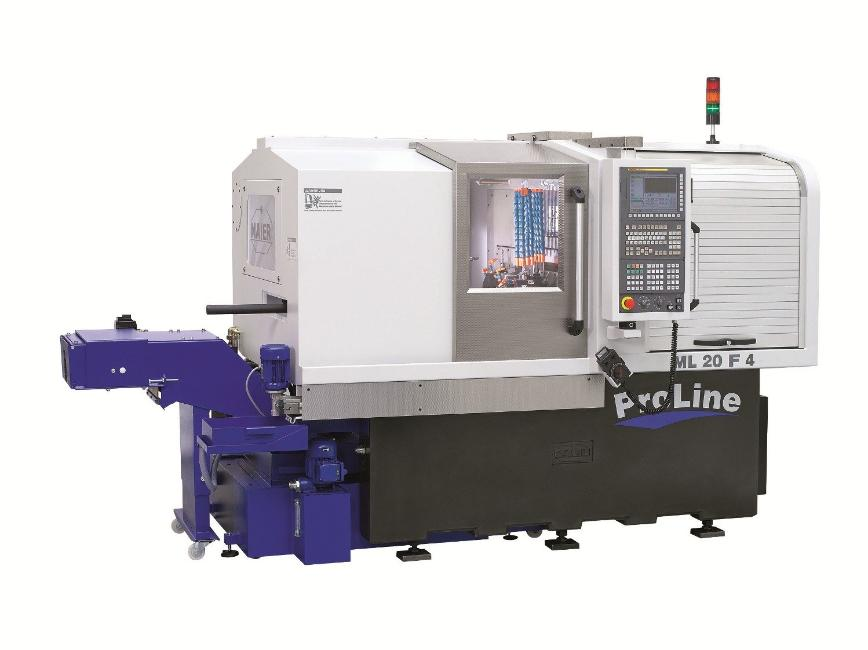 Logo Single spindle bar automatic - ML-ProLine Serie F4