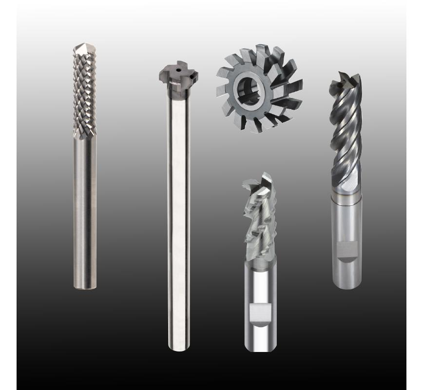 Logo End miller - Solid Carbide End Mills