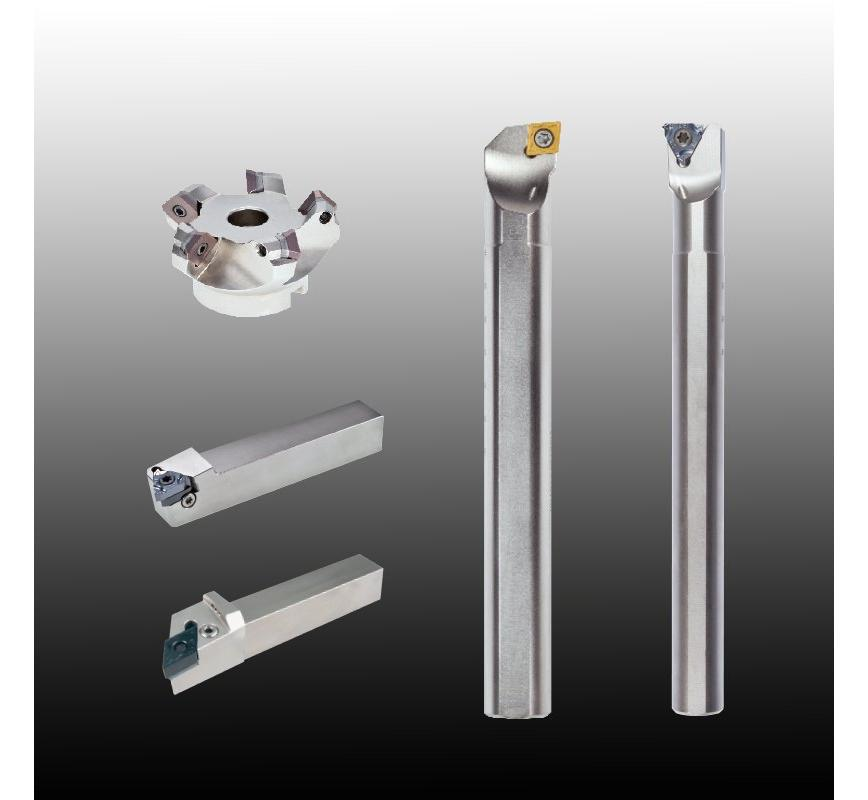 Logo Indexable Inserts and Holders for Milling
