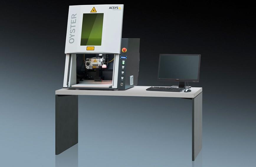 Logo Laserbeschriftungsmaschine - OYSTER