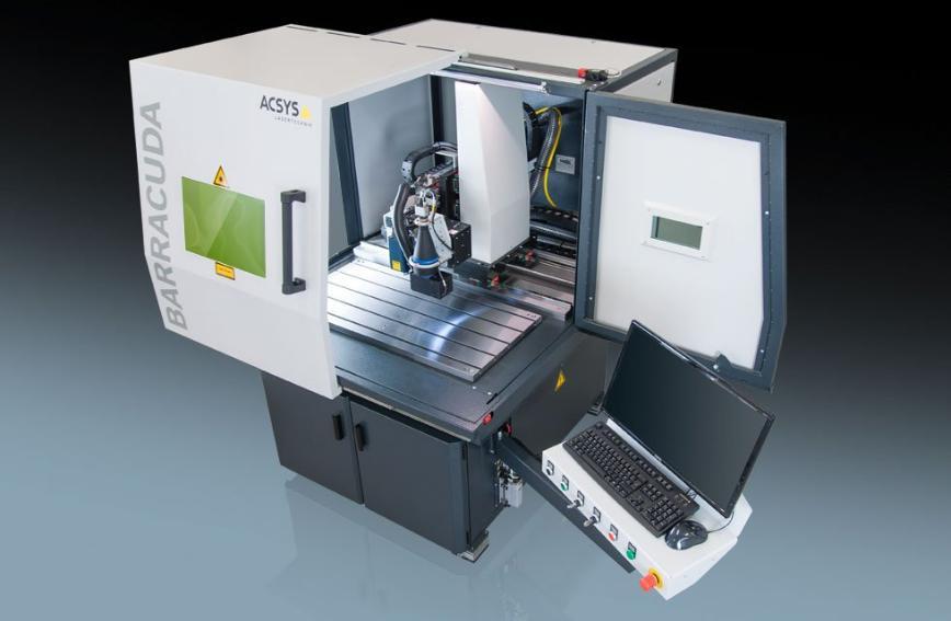 Logo Laser welding machine - BARACUDA