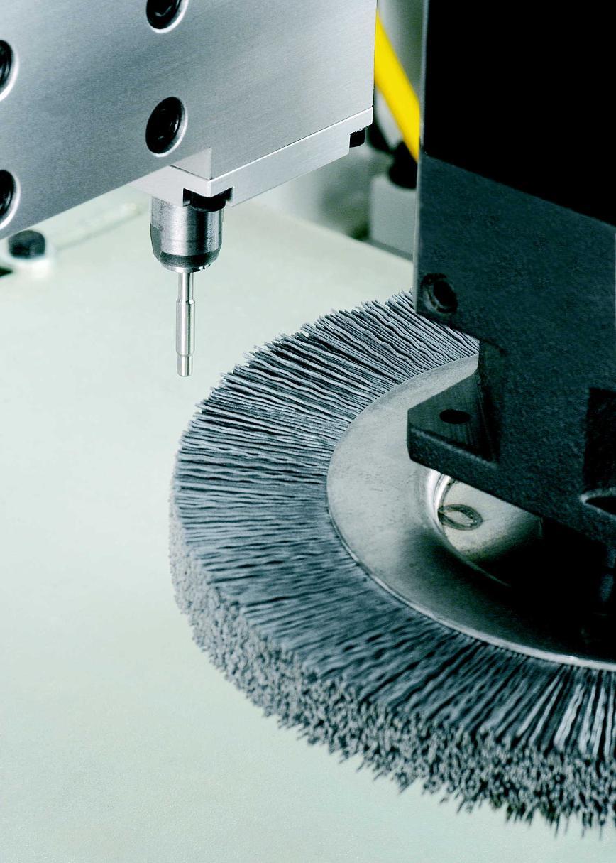 Logo Maschine zum elektromechanischen Entgraten - SECKLER deburo