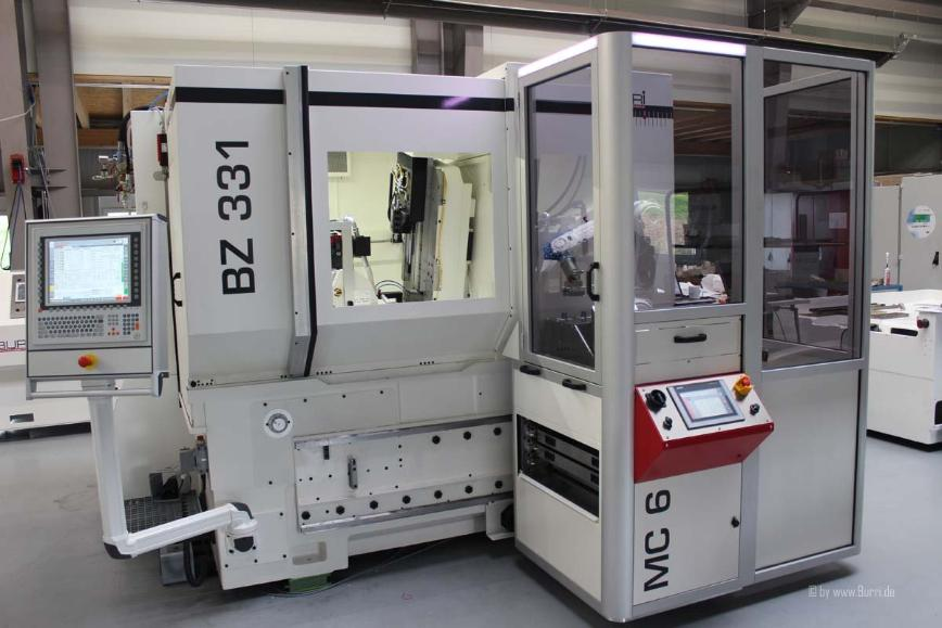 Logo Gear grinding machine - Gear grinding machine BURRI BZ 331