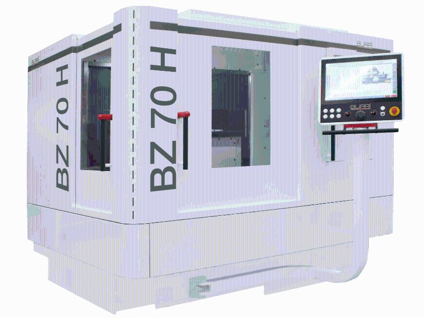 Logo Schleifmaschine für Verzahnungen - Wälzschleifmaschine BURRI BZ 70 H
