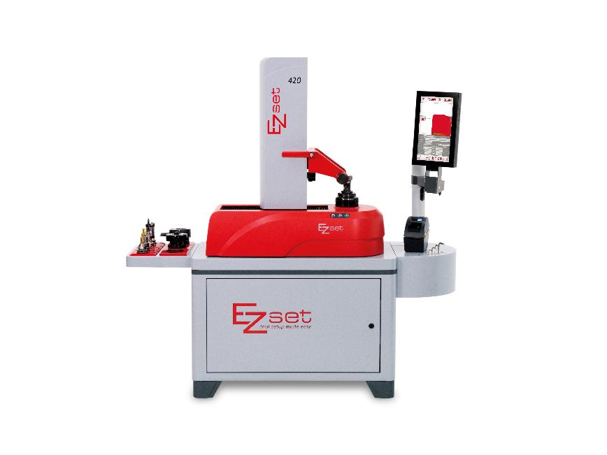 Logo Werkzeugvoreinstellgerät - EZset mit ImageController1