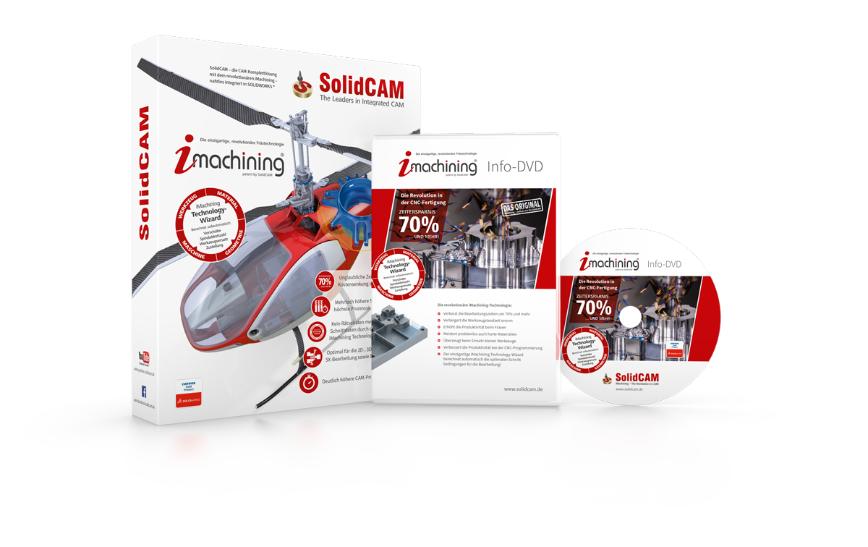 Logo SolidCAM - Die integrierte CAM-Komplettlösung für SOLIDWORKS