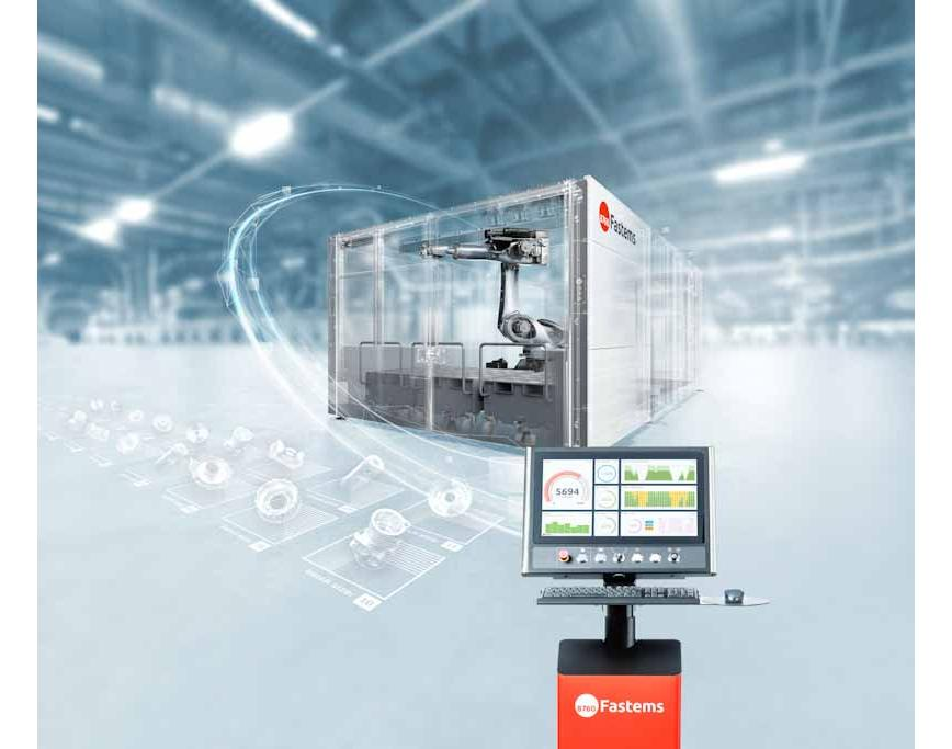 Logo Handling of workpieces - RoboCell ONE