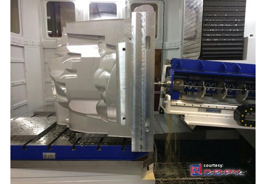 Logo Tiefbohrfräs-Maschine für Formen bis 20 Tonnen - MF1600S