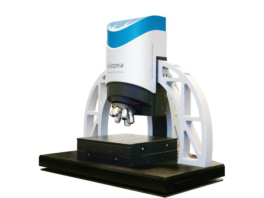 Logo InfiniteFocus - Optisches 3D Oberflächenmessgerät